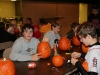 Middle School Pumpkin Carving Oct 2012