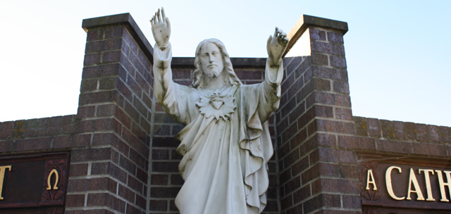 Sacred Heart Catholic Church header image