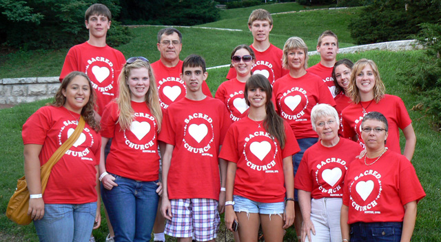 Sacred Heart Catholic Church header image